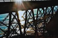 Railway Bridge near Santa Barbara