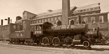 Old #299 2-6-0 Steam Locomotive