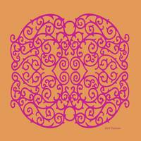 Wrought Inspiration II Magenta
