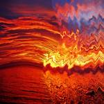 """""""red sunset no. 7 – a bloody red sunset"""" by sunsetcolors"""