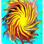 """Sun in Spiral"" by TamIshArt"