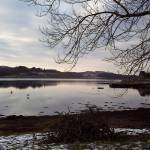 """Peaceful Winter Loch Scotland."" by christmas1"