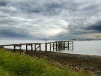 Old pier, Silver Sands