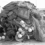 """Fishing Nets, Greencastle, Donegal"" by MagieL"