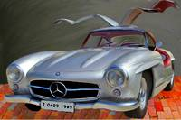 Mercedes Benz 300 SL, GULLWING