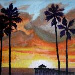 """Palm Sunset"" by jt85"