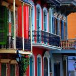 """New Orleans Row Homes"" by alexbalcer"