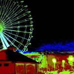 """ferris wheel - 1"" by vickicook"