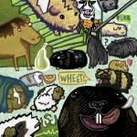 """Guinea pigs"" by iannagy"