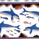 """New Minoan Dolphins Fresco"" by MinoanAtlantis"