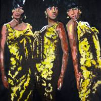 Original Divas The Supremes Art Prints & Posters by Ronald Young