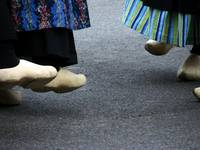 Dutch Dancers in Holland