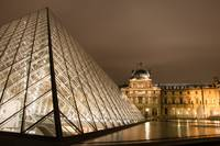 Louvre Night Photo
