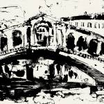 """Rialto Bridge From original painting by Ginette"" by GinetteCallaway"