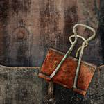 """Old Mailbox with Rusted Clip"" by Joselyn_Holcombe"