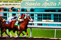 Santa Anita Parkway Finishing Post No2