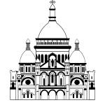 """""""Inspired by the Sacre Coeur, Montmartre, Paris, Fr"""" by Lonvig"""