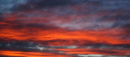 Red New Zealand Sky