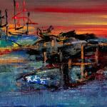 """China Boat"" by LesaFisher-Artworks"