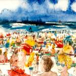 """A Day at the Beach"" by allinghamcarlson"