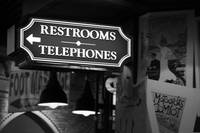 Restrooms and Telephones