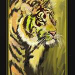 """Tiger"" by DavidBleakley"