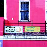 """Moon Gun Cafe - Cape Town S.A"" by chelseashoesmith"