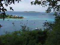 Ferry Boat Harbor at St Johns USVI