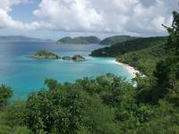 Trunk Bay from Above