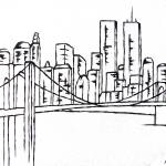 """Brooklyn Bridge"" by Schambon"