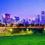 """""""Grant Park  and skyline"""" by TomJelen"""