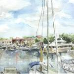 """harbortown_hiltonheadisland"" by joannasteege"
