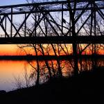 """Sunset on the Ohio"" by michellemorrisphotography"