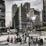 """United Nations Plaza New York"" by richardJones"