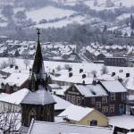 """Risca Town"" by richardJones"