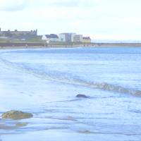 East Sands St Andrews Harbour Art Prints & Posters by John Ryan