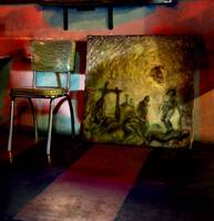 Chair and Painting, Voodoo Room
