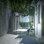 """""""Lindos Street"""" by RicardoGravioli"""