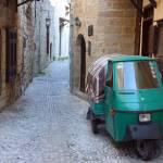 """Rhodes Old Town Medieval street"" by RicardoGravioli"