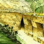 """Yaxchilan, Structure 19"" by MayaVision"