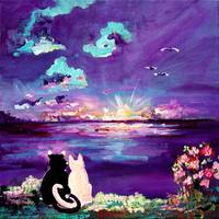 Forever LOVE Painting by Ginette