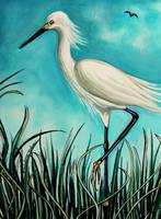 The White Egret