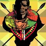 """""""Masai Warrior"""" by mingoartstudio"""