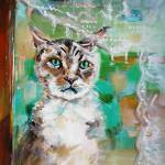 """Please Let Me In Painting by Ginette Callaway"" by GinetteCallaway"