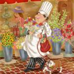 """Chefs Go To Market II"" by shariwarren"