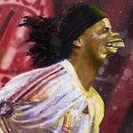 """Ronaldinho"" by andreagatti"