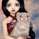 """""""Winged Ferret"""" by strangeling"""