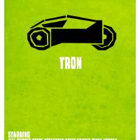 Light Cycle, Tron Art Prints & Posters by Hexagonall .