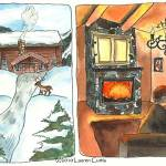 """""""Norway Illustrations (c)2010LaurenCurtis"""" by LaurenCurtis"""