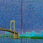 """Rainbow Bridge.Japan"" by 1004art"